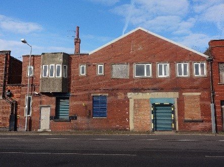A derelict building on Grimsby's Kasbah