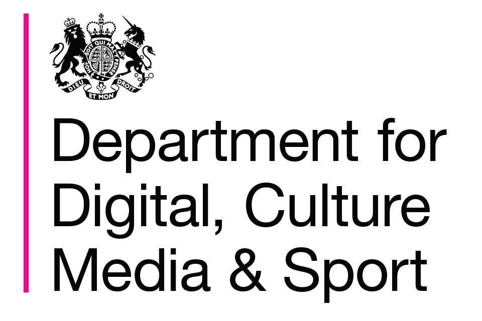Department for Digital, Culture, Media and Sport logo