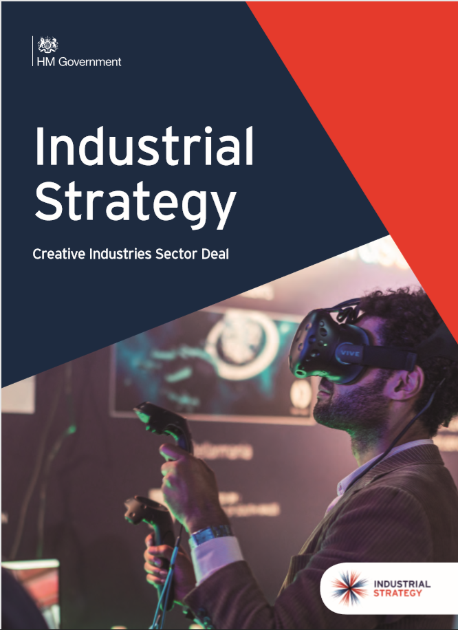 Industrial Strategy Creative industries Sector Deal front cover