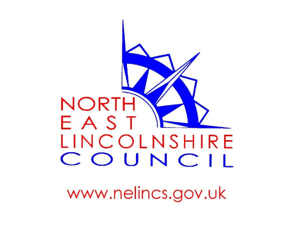 North East Lincolnshire Council logo and web address www.nelincs.gov.uk